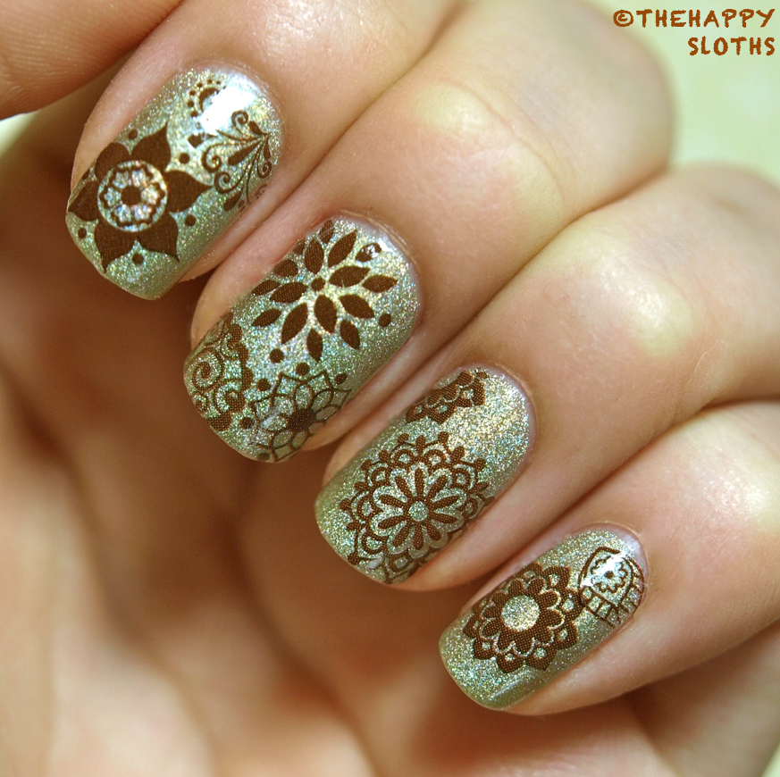 Mehndi For Nails : Henna nails manicure featuring bigruby nail tattoos
