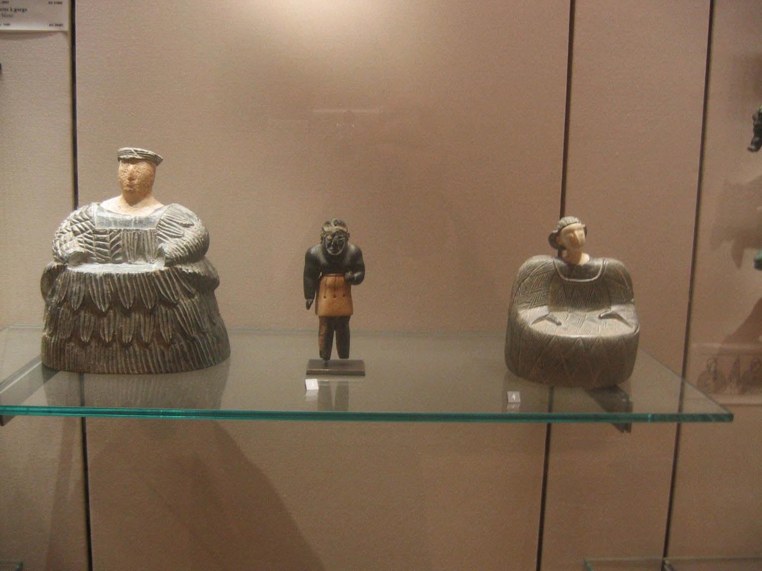 Princesses de Bactriane du Louvre