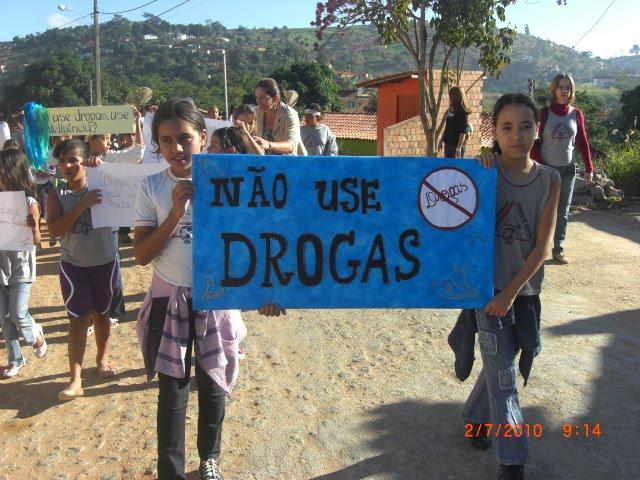 não use drogas