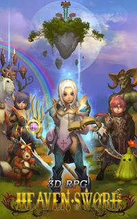 3D RPG Heaven Sword v1.3.2 APK: game 3D hành động nhập vai cho android
