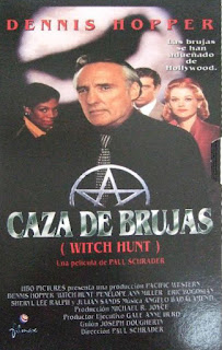 Hechizo letal, Cast a Deadly Spell, Fred Ward, David Warner, Caza de brujas
