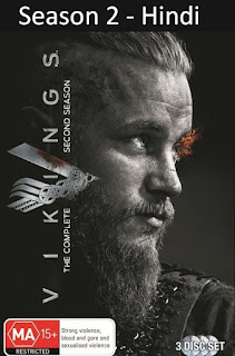 [9 ,10 Episode Added] Vikings Season 2 (Hindi-English) Dual Audio | 720p | 480p