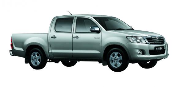 Toyota Hilux ngoại thất
