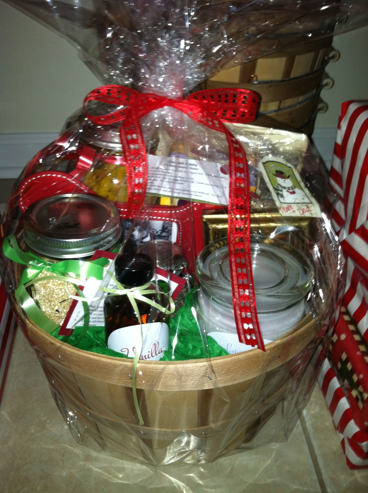 Handmade Gift Basket Ideas : Melicipes healthy homemade gift baskets