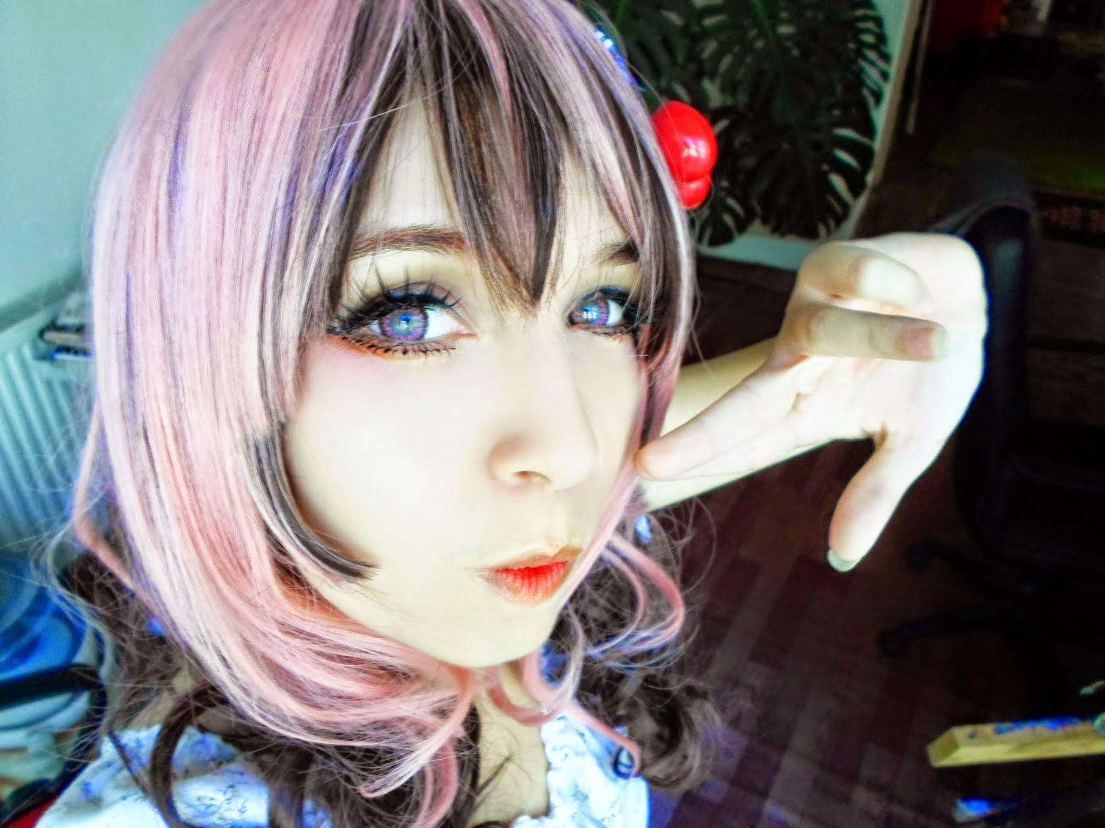 Subtle Pink Circle Lenses for Light Eyes: I.Fairy Jewel Pink