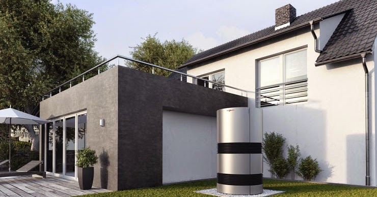 viessmann vitocal 300 a une pompe chaleur air eau. Black Bedroom Furniture Sets. Home Design Ideas