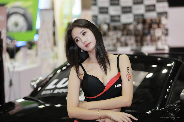 1 [New model] Han Yu Ri - Automotive Week 2015 - very cute asian girl-girlcute4u.blogspot.com