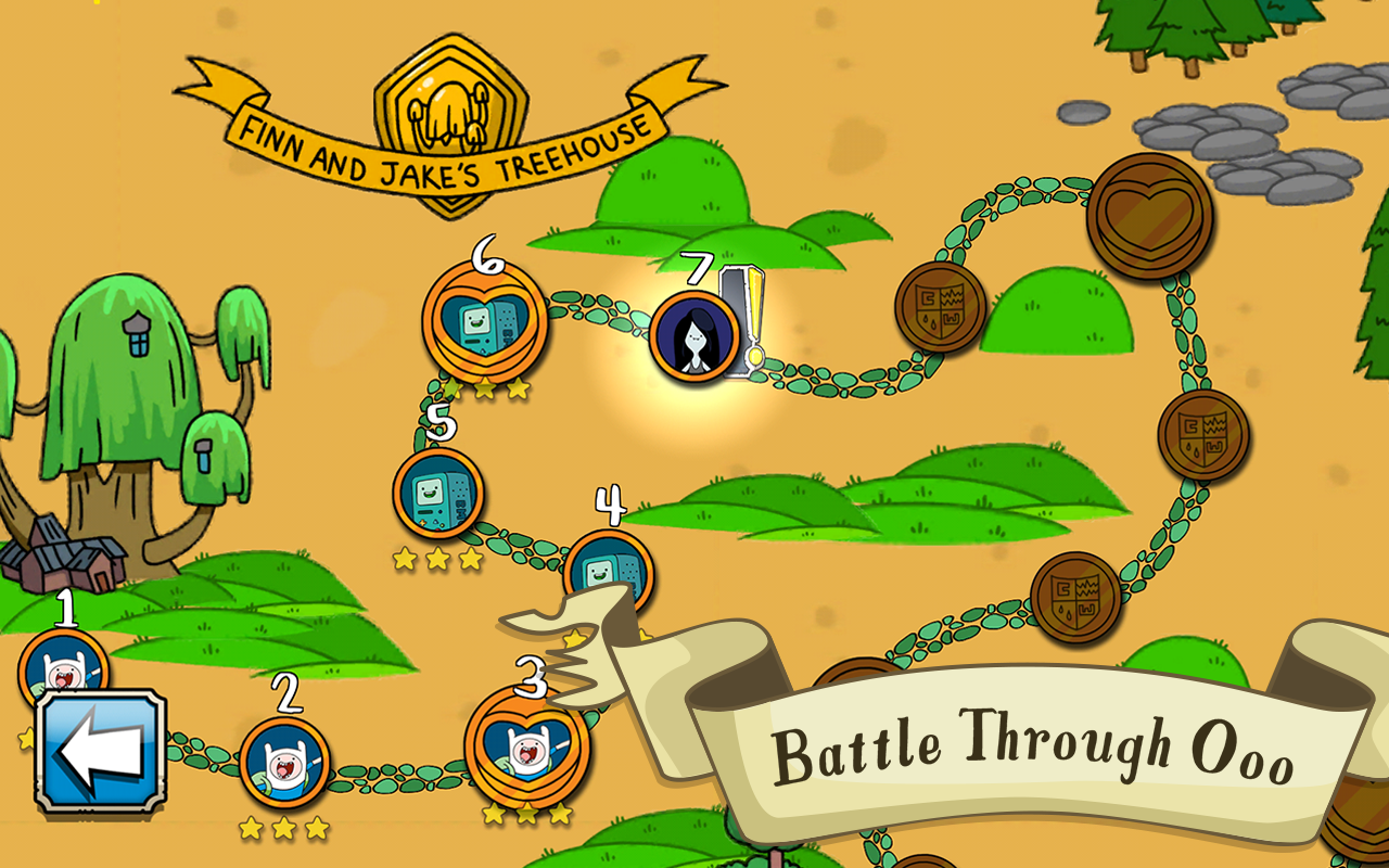 Card Wars Adventure Time APK game