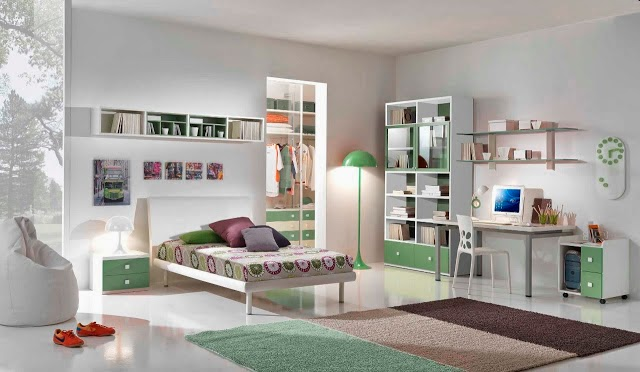 Couleur chambre fille - Idee rangement chambre fille ...