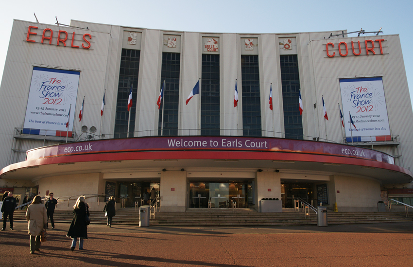Caroline's Miscellany: Earl's Court: reliefs and ...