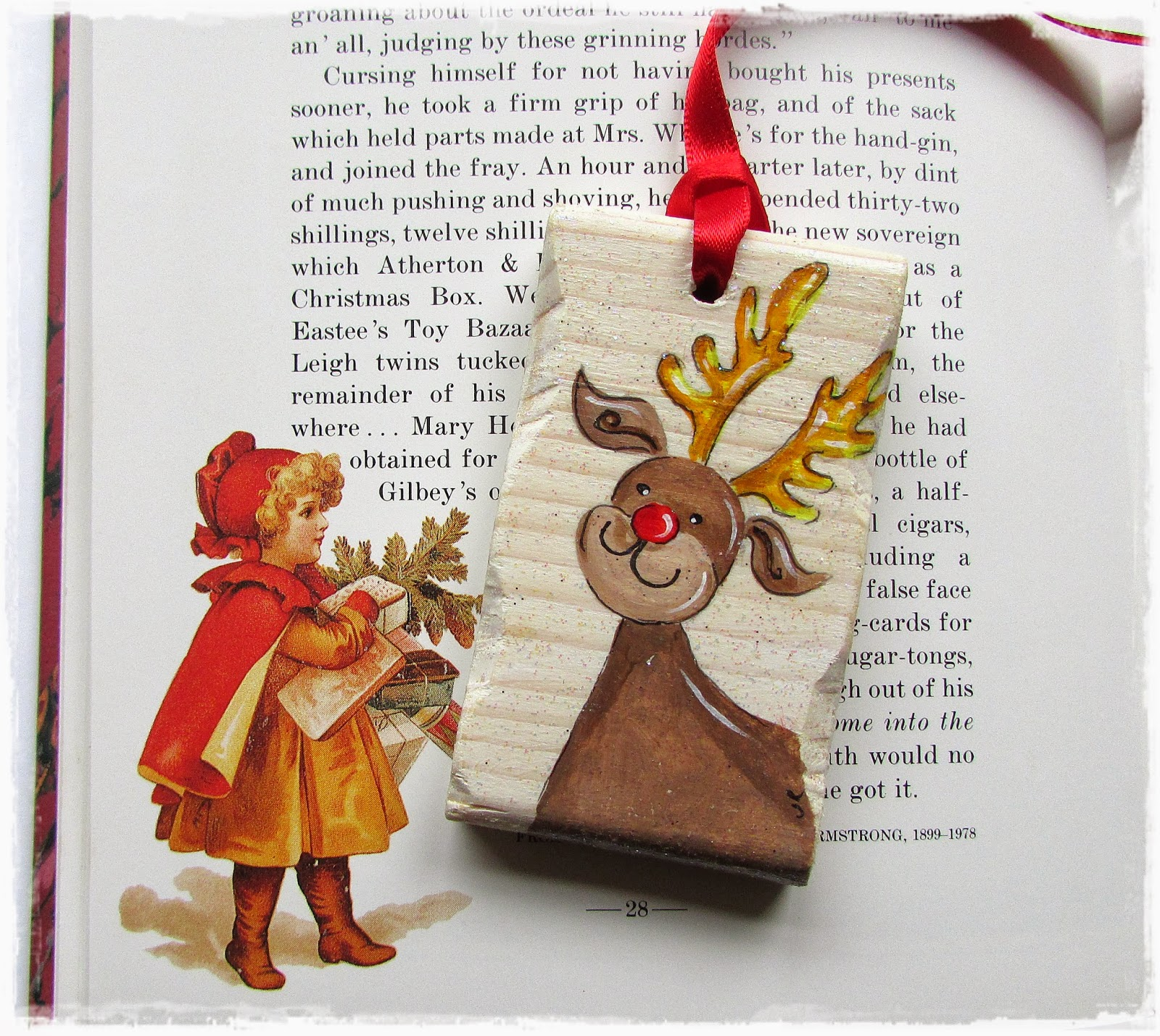 By picto rudolph the red nosed reindeer amp christmas tree decorations