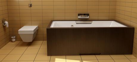 Modelli moderni di pavimenti e rivestimenti bagno - Modelli di bagno ...