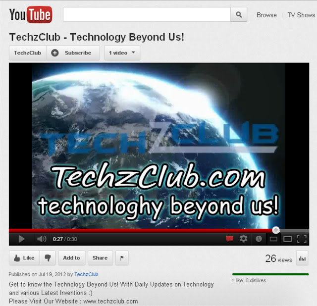 Official Youtube Channel of TechzClub