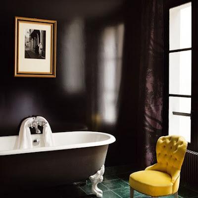 Hermoso Baño Elegante de color Negro