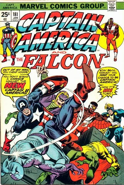 Captain America and the Falcon #181