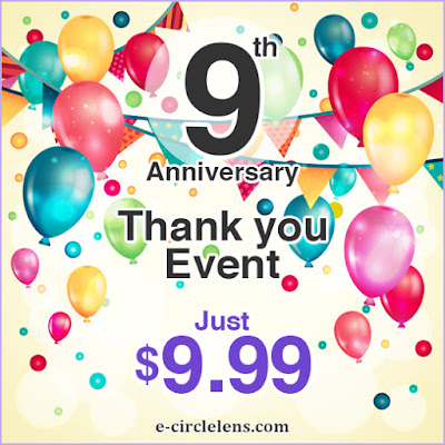 Thank You Event at www.e-circlelens.com