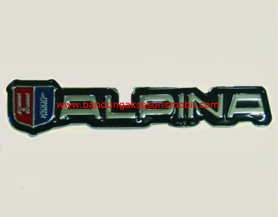 Emblem Logo Grill Alpina