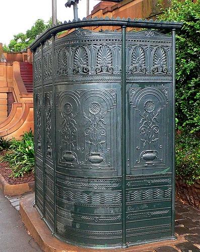 Общественный туалет в Сиднее