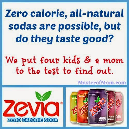 Zevia Taste Test and Review