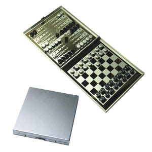 "CENTRUM LINK - ""2 in 1 ALUMINIUM BOARD GAME"" - YGA 1002"