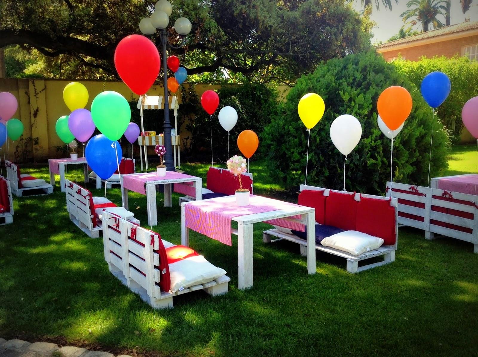 Decoracion Al Aire Libre De Fiestas Infantiles ~ INOLVIDABLES 15 Fiestas al Aire Libre