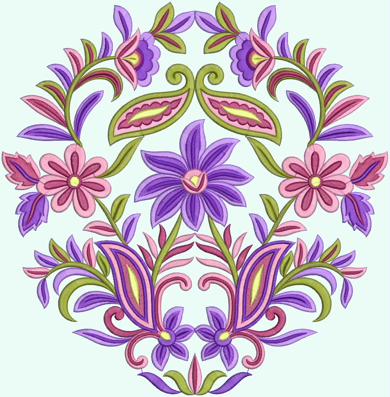 Embdesigntube patch for wedding gown designs
