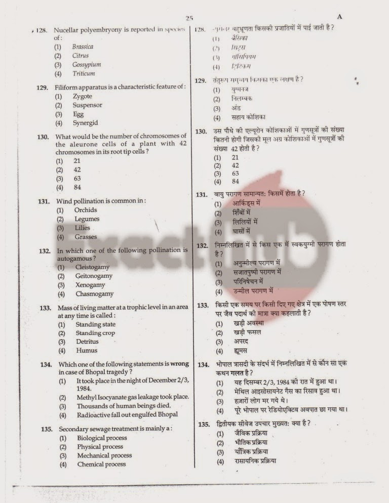AIPMT 2011 Exam Question Paper Page 24