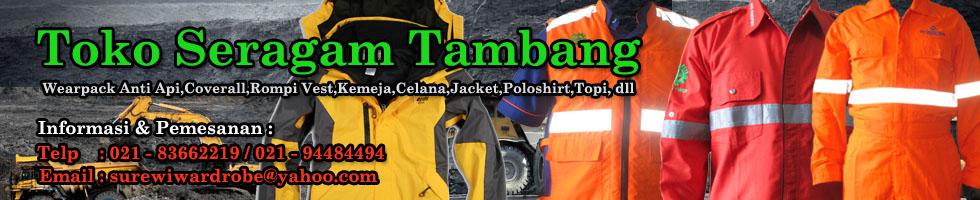 Supplier Seragam Tambang & Aneka Seragam Kerja.