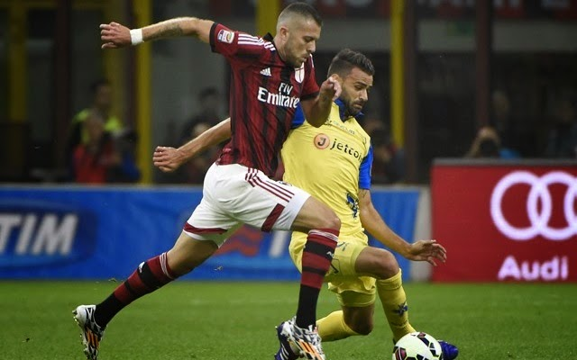 Chievo Verona vs Milan en vivo