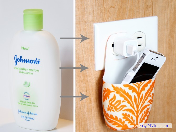 DIY smartphone charger holder. DIY toys for Adults   easy DIY toys
