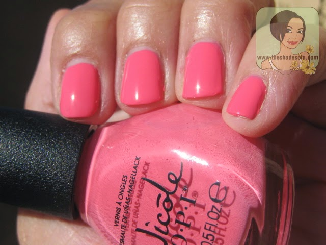 Nicole by OPI LeaPink for Joy
