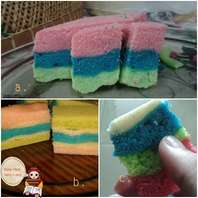 Simple Rainbow Cake Recipe