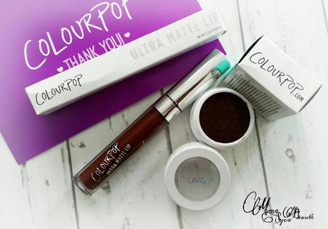 ColourPop makeup revue lipstick matte lax shipito