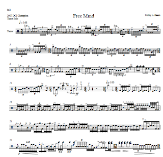 Colby Beers Tenor Solo Sheet Music