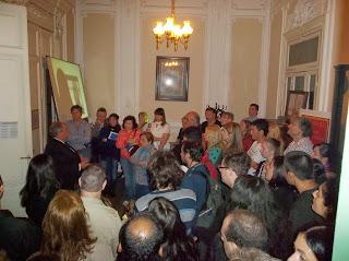 La noche de los museos, zona sur barracas, masonería, masónico, Alfredo Palacios Masón