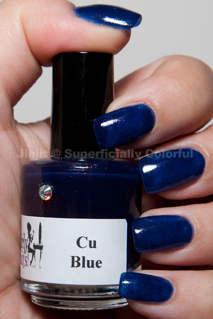 Girly Bits - Cu Blue