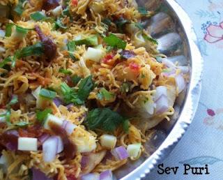 Sev Puri Recipe, Sev batata Puri Recipe, Sev Poori Recipe,chaat Recipe, Veg recipe