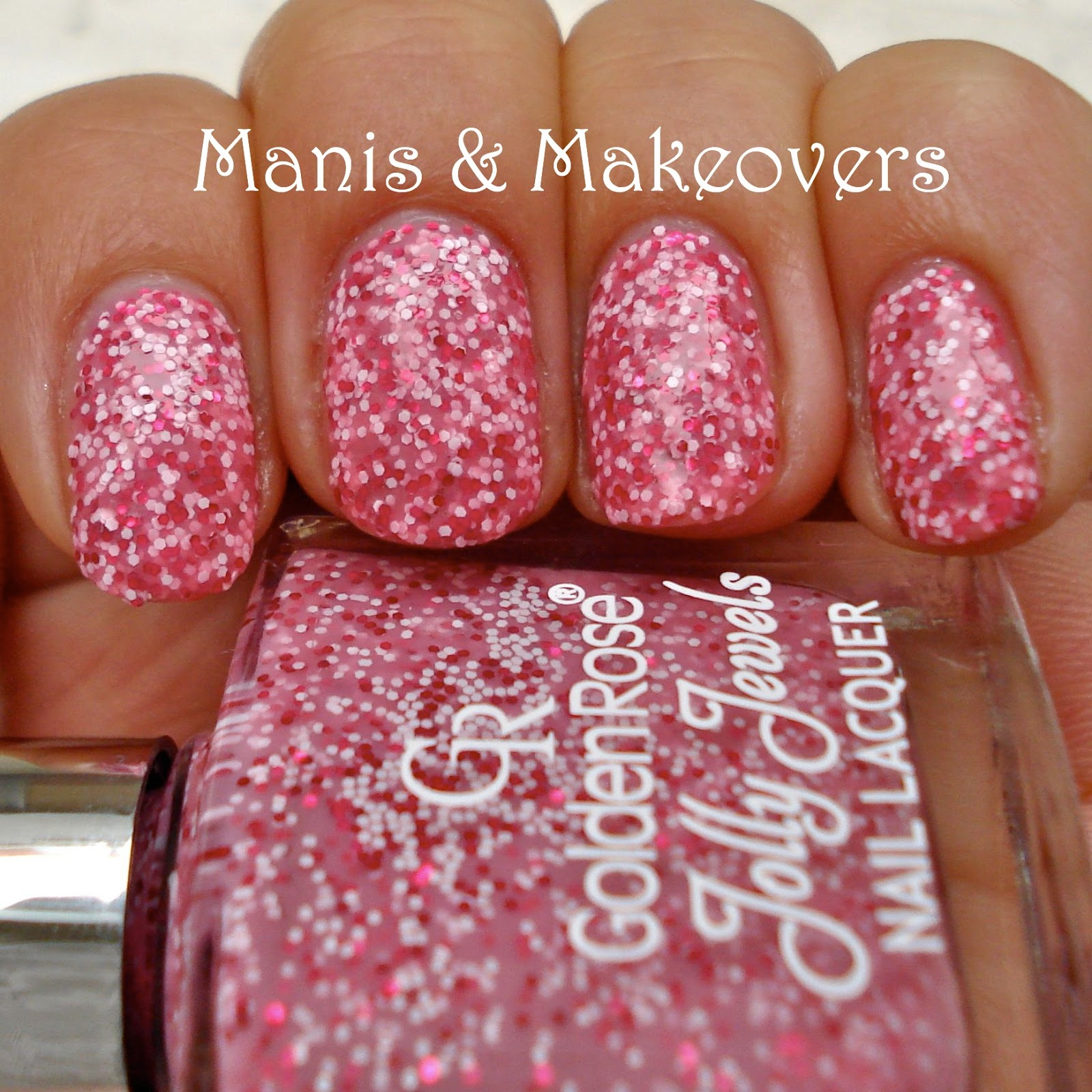 Golden Rose Jolly Jewels 109 As Essie Says A Pink Floam
