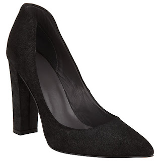 John Lewis Kin Block Heeled Court Shoe