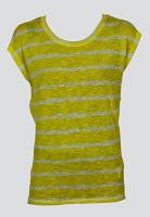 Tricou ZARA Simette Yellow (ZARA)