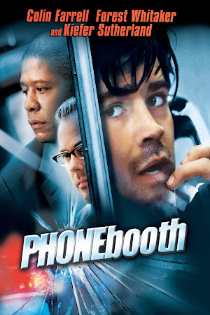 Poster Of Phone Booth In Dual Audio Hindi English 300MB Compressed Small Size Pc Movie Free Download Only At 518418.com