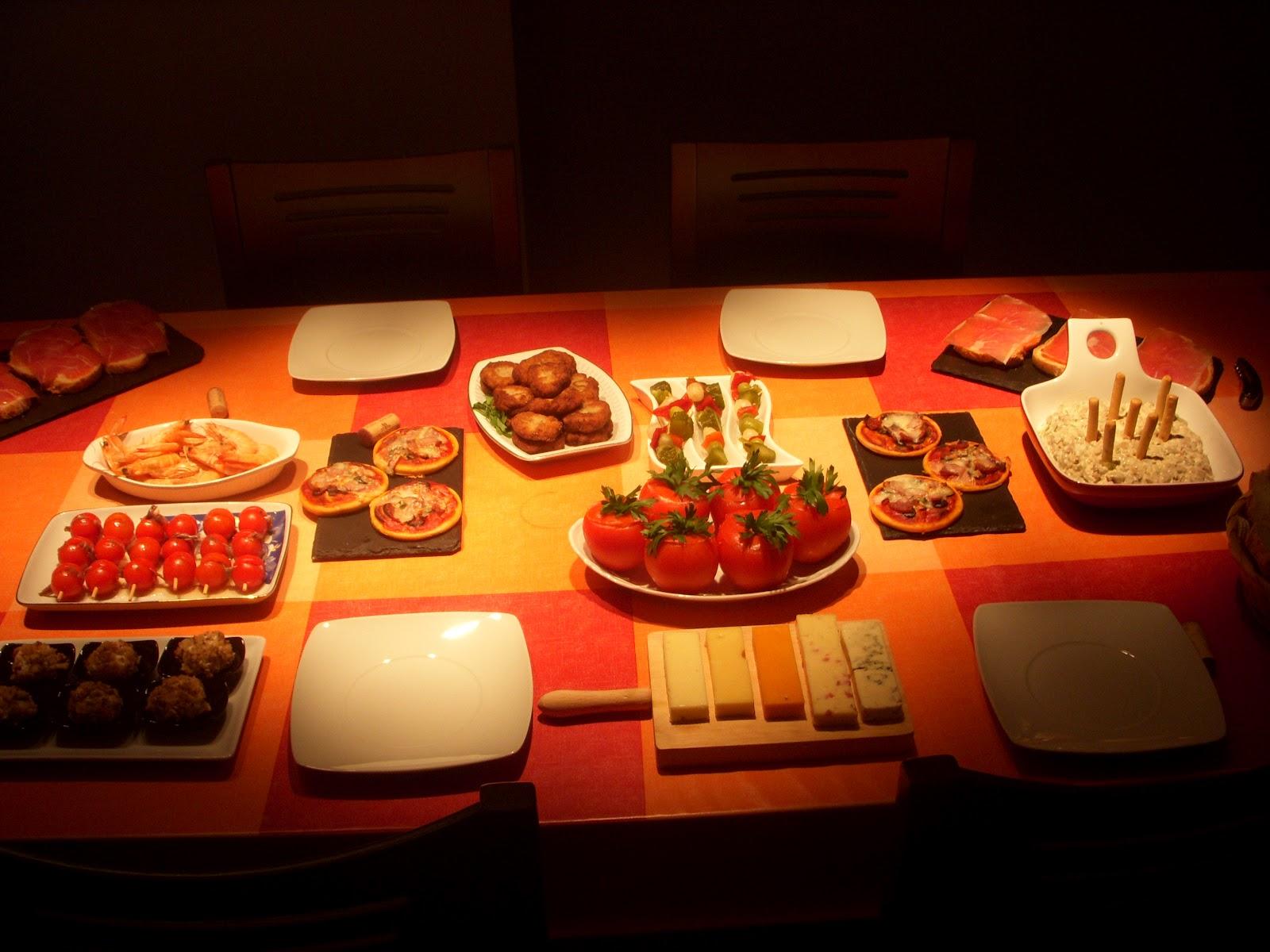 Blog de canal cuina cena de tapeo en casa - Cena con amigos en casa ...
