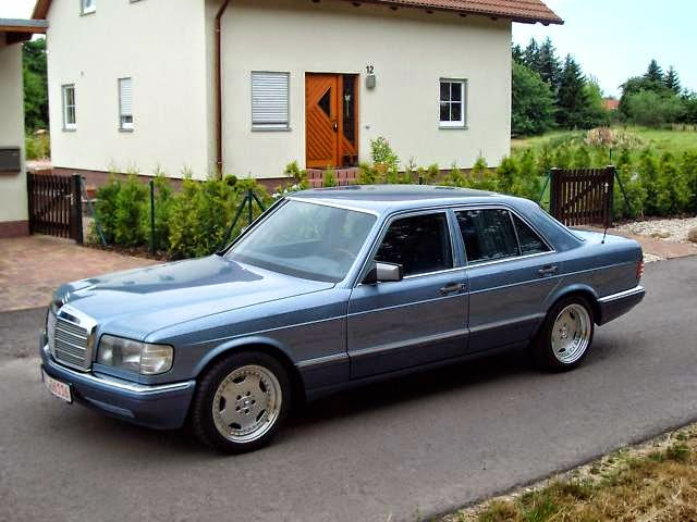Mercedes benz w126 560se on amg wheels benztuning for Mercedes benz w126
