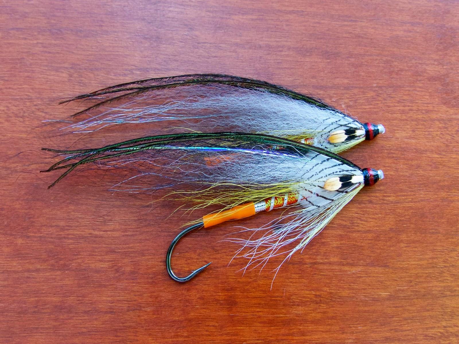Atlantic salmon flies gray ghost variant tube fly for Salon fly