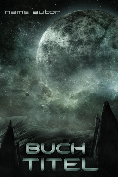 Premade-Buchcover Sci-Fi