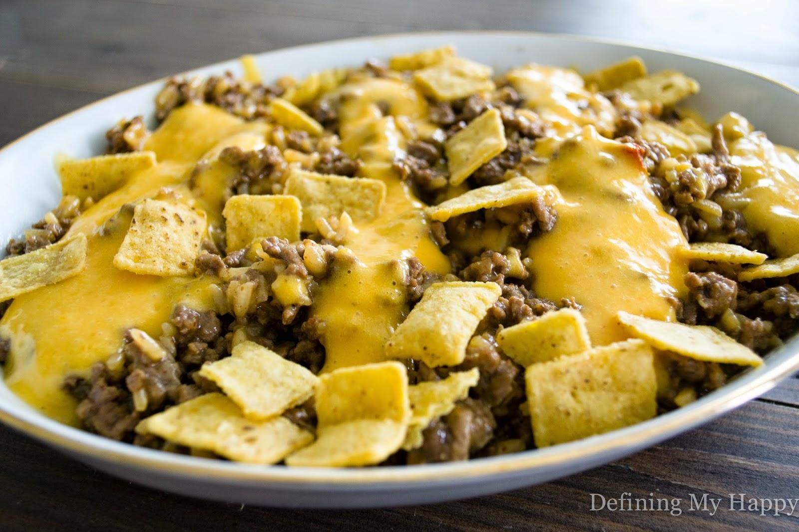 Crunchy Taco Dinner