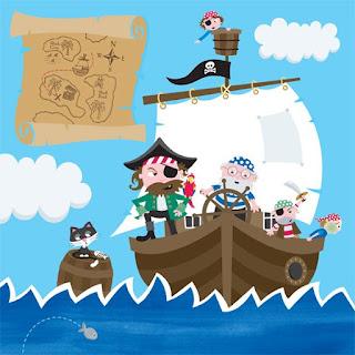 Imagenes infantiles a color imagenes para imprimir - Imagenes de piratas infantiles ...