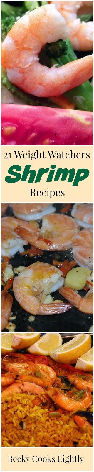 Weight Watchers Shrimp Recipes | Becky Cooks Lightly