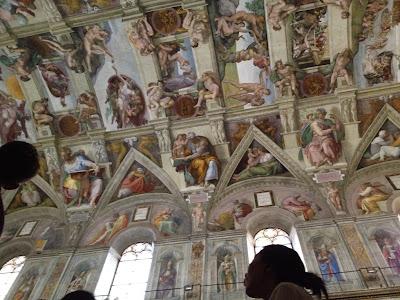 La Capilla Sixtina. Ciudad del Vaticano. Roma. Turismo en Roma. Lugares para visitar en Roma