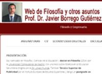 La web de Javier Borrego